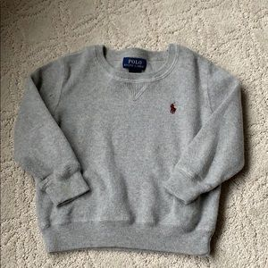 Grey Ralph Lauren sweater